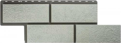 Фасадная панель Камень Неаполитанский (белый)