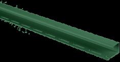 "Планка ""J - trim"" Зелёная Т-15 - 3,00м"