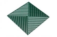 Решётка с дополнительным обрамлением, цвет Зелёная