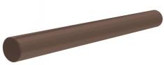Труба для водосточной системы 4 м Стандарт (цвет коричневый)